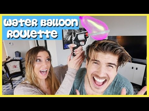 WATER BALLOON ROULETTE CHALLENGE!!