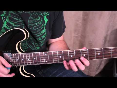 Guitar Lesson - How to Play - Classic Rock inspired by Lynyrd Skynyrd That Smell