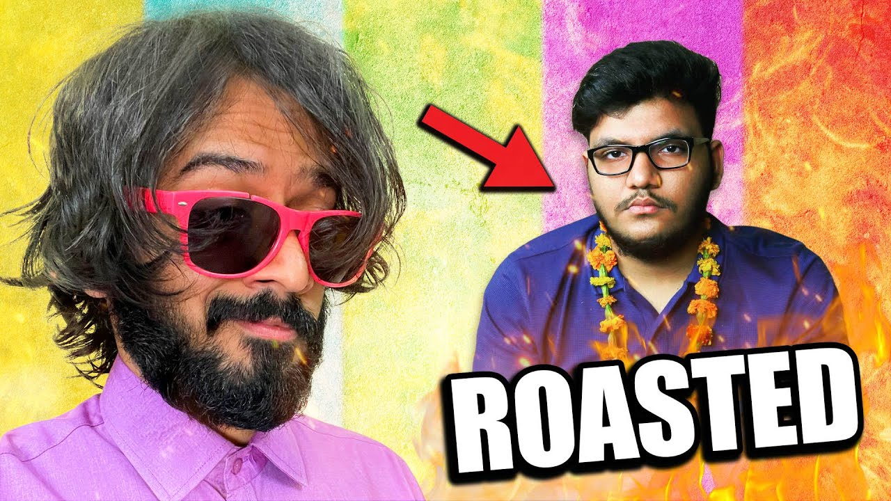 I roasted this SMALL YOUTUBER 🤣