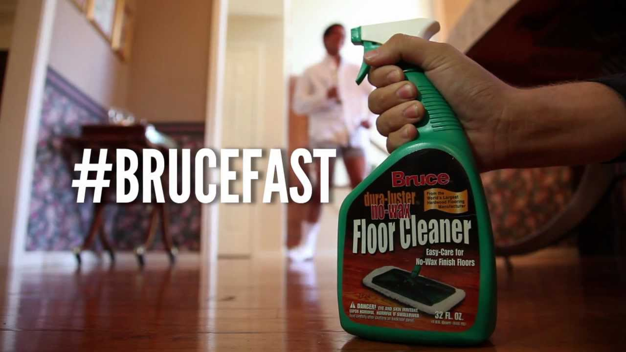 Bruce Floor Cleaner Texas Tech Advertising Class 2012