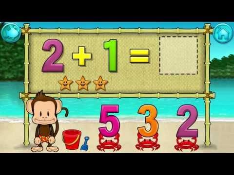 Monkey Math School Sunshine - Allows your child to build