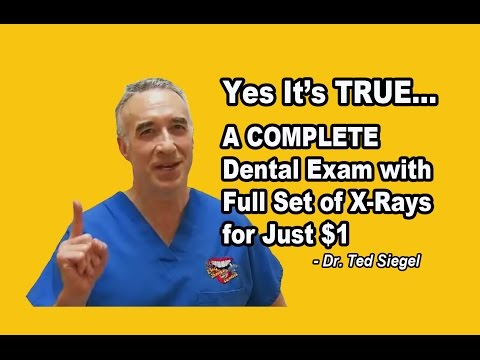 Breaking News – Chicago Dentist Offers Complete Dental Exam with Full Set of X Rays for $1