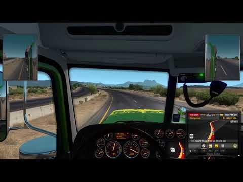 Truck Sim saturday San Diego to Clovis 1500Km trip