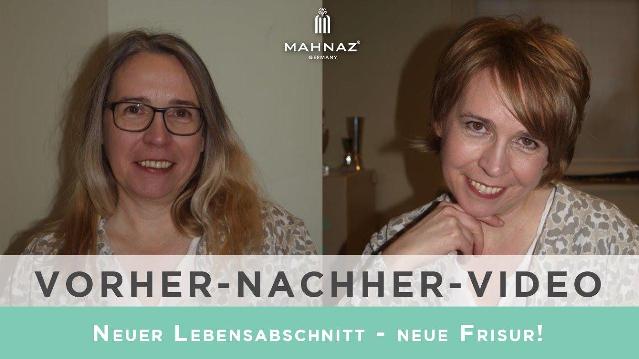 Neuer Lebensabschnitt - neue Frisur (Vorher-Nachher Hamburg)