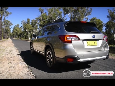 2016 subaru outback 3 6r 0 100km h engine sound youtube. Black Bedroom Furniture Sets. Home Design Ideas