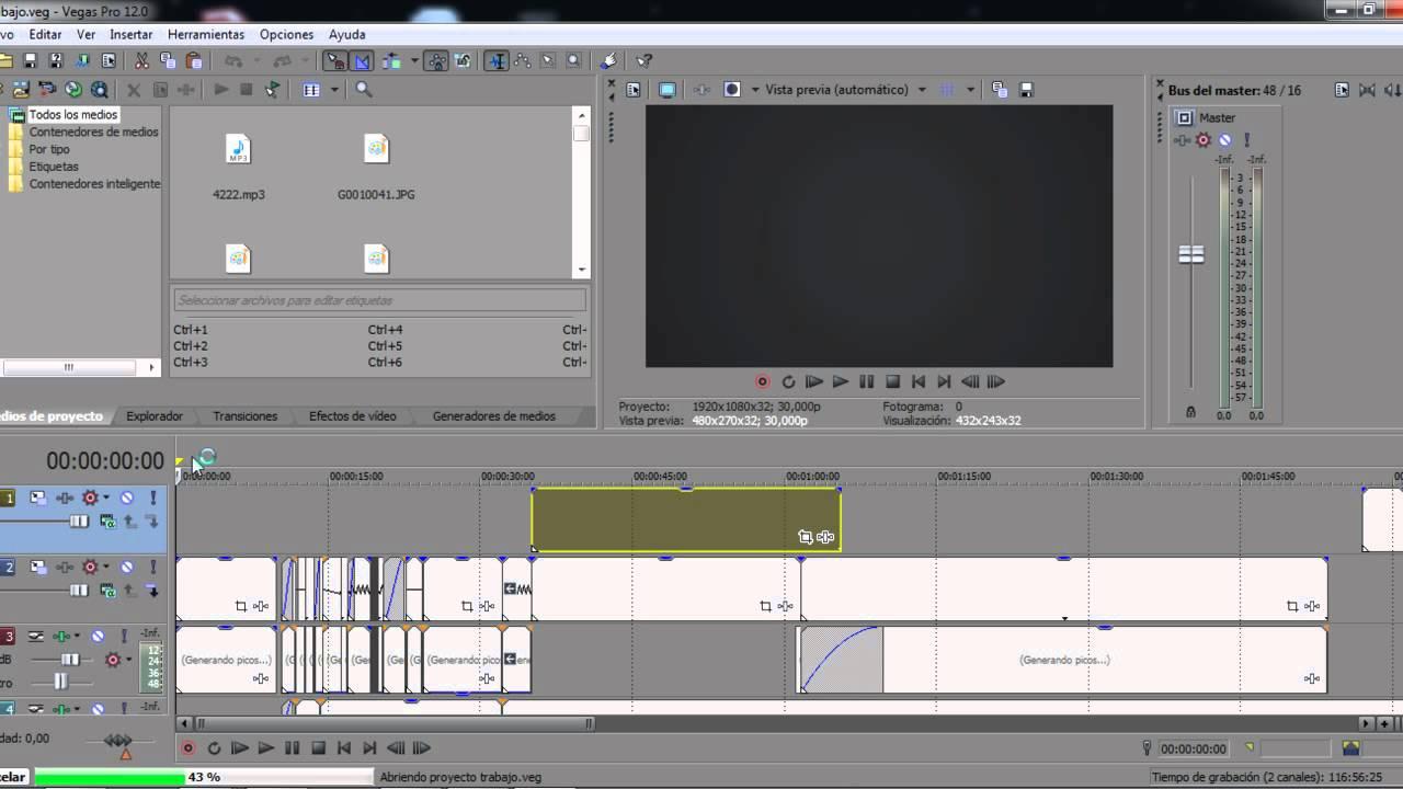 Capturar un frame(una imagen) de tu video con sony vegas/tutorial en ...