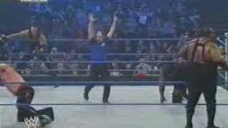 Kane & Undertaker vs. Big Daddy V & Mark Henry *German*