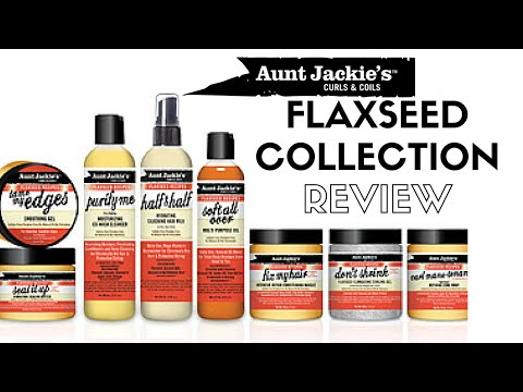 Aunt Jackie's Curls and Coils Flaxseed Collection Review