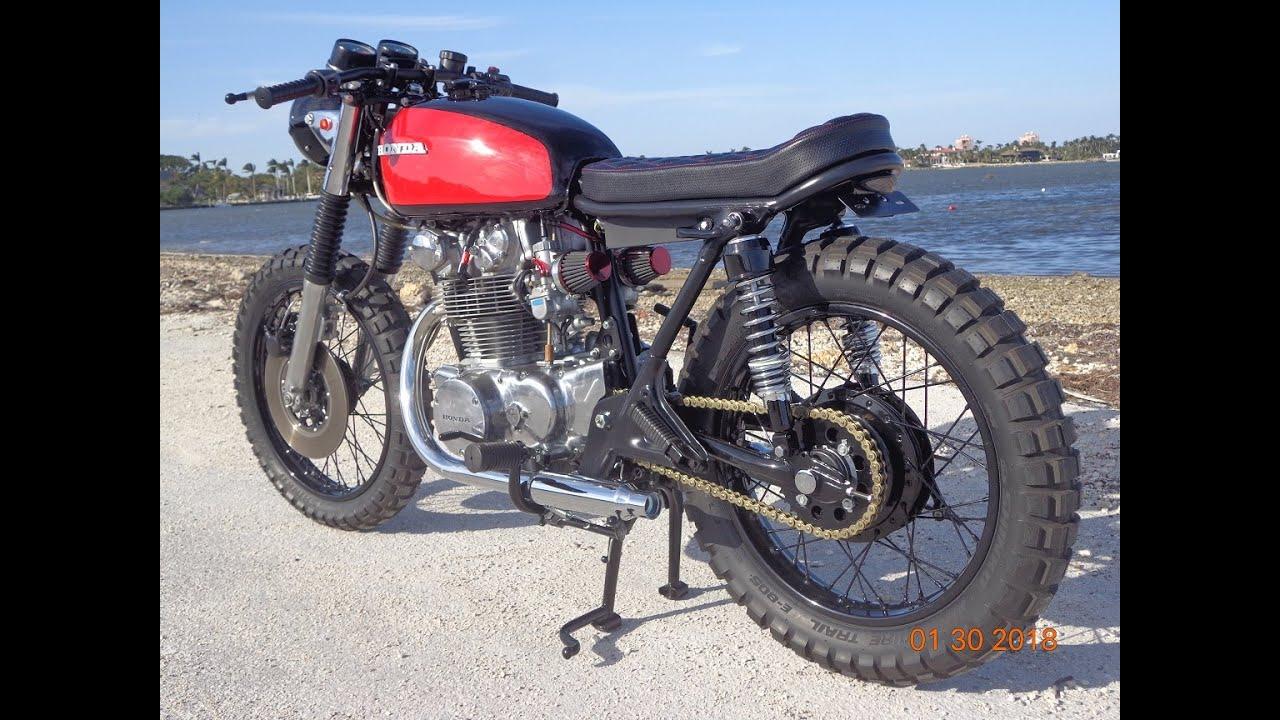 FOR SALE 1971 Honda CB450 TRACKER New Build 2018 Cafe Racer