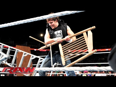 Dean Ambrose sends a message to Bray Wyatt: Raw, December 1, 2014