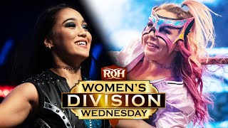 Rok-C vs Laynie Luck on Women's Division Wednesday!