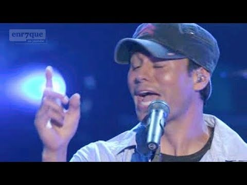 Enrique Iglesias - Nunca Te Olvidare (LIVE, English lyrics)