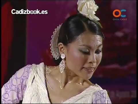 Junko Hagiwara ¨La Yunko¨ en  Final de XIV Concurso Baile por Alegrías, Cádiz 2011