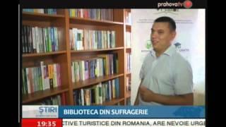 """""""Biblioteca din sufragerie"""" la stirile Prahova TV"""