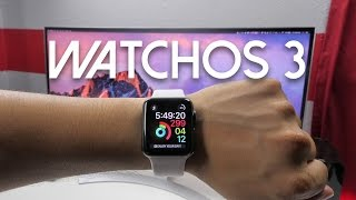 watchos 3 for apple watch what s new walkthrough and overview