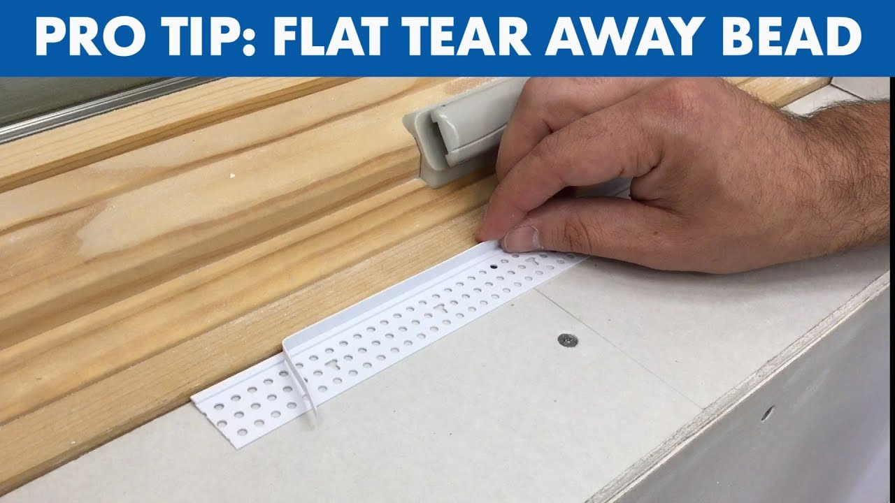 Quick Pro Tip: Flat Tear Away Bead