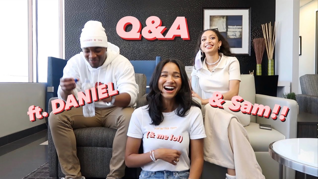 Download Q&A with Daniel Ezra & Samantha Logan (and me lol) | Greta Onieogou