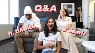 Q&A with Daniel Ezra & Samantha Logan (and me lol) | Greta Onieogou
