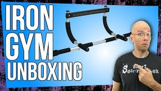 Iron Gym Pull Up Bar - Total Upper Body Workout Bar Unboxing & Setup