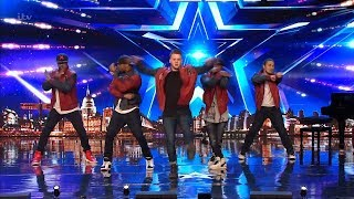Britain's Got Talent 2019 KNE Wows the Judges Full Audition S13E08