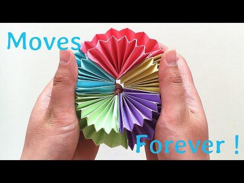 Origami Magic Circle Fireworks - Full Tutorial - YouTube | 360x480