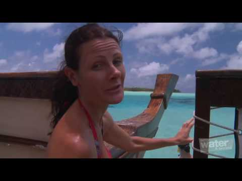 Part 6 of 6   Cook Islands, Aitutaki lagoon, Holiday travel video guide