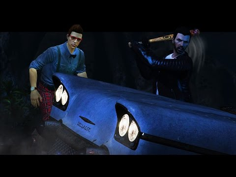 NEGAN in GTA 5! - Walking Dead GTA 5 Skit