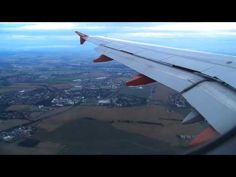 easyJet - landing - Prague airport