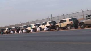 مسيرة قروب اف جي الرياض في اليوم الوطني 1432