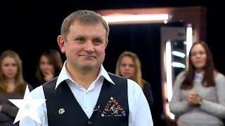 Бильярд с фокусами и трюками - Україна має талант-6 - Кастинг в Киеве