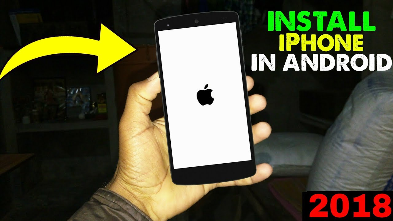 Install iOS 11 on Android || Complete iPhone System 2018 | UPSchannel eu