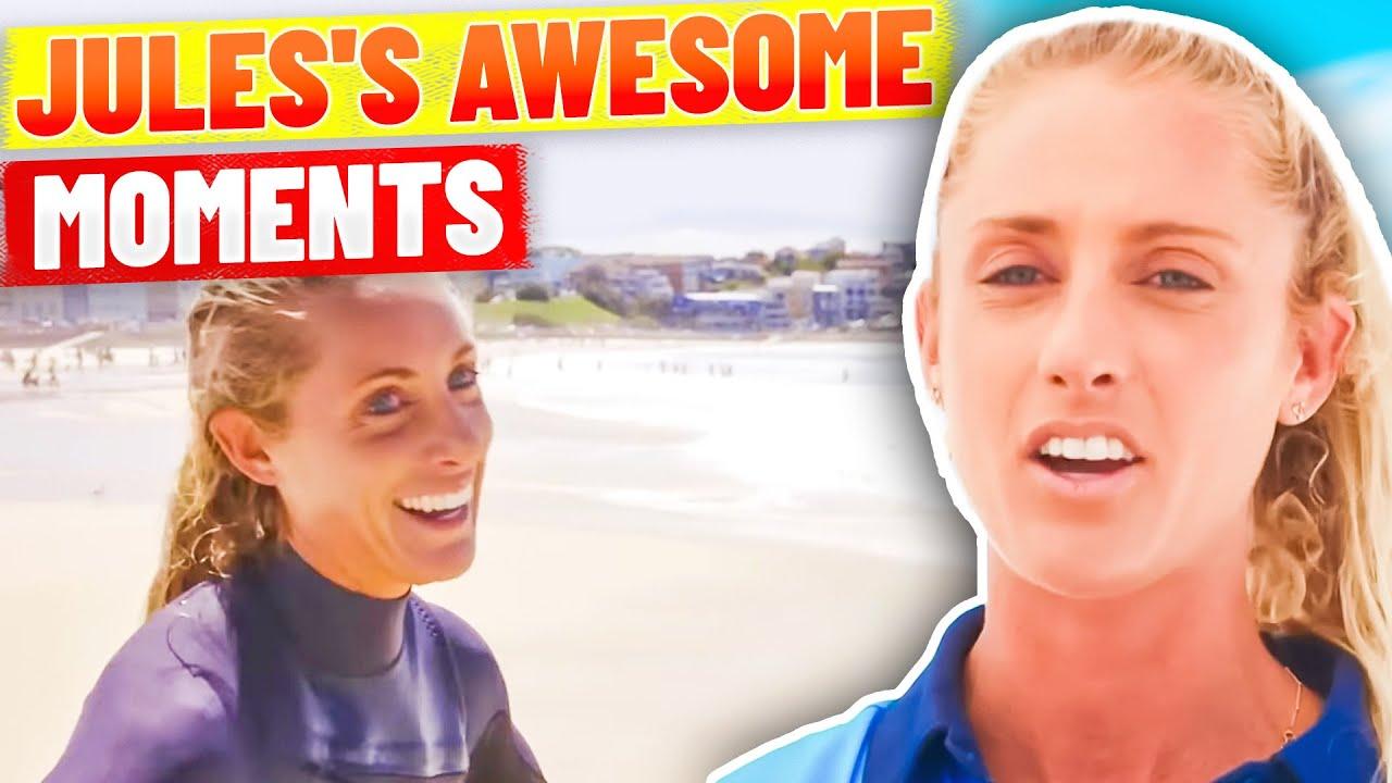 Lifeguard Jules's Memorable Moments on Bondi Rescue