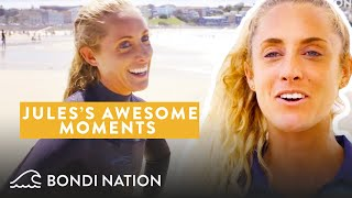 Lifeguard Jules's Memorable Moments on Bondi Rescue