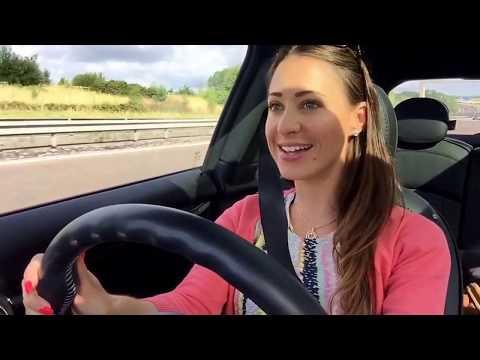 How to drive the M6 Toll - Rebecca Jackson AKA Rebecca Racer
