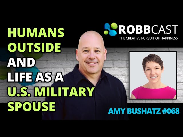 #068 Amy About the Benefits of Humans Spending Time Outside Everyday and Life as a Military Spouse