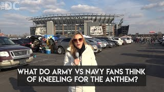 This is What Army-Navy Football Fans Think of Anthem Kneelers