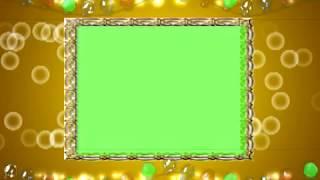 "wedding frame motion background video""Wedding Frame Free Video Animation"" no 4"