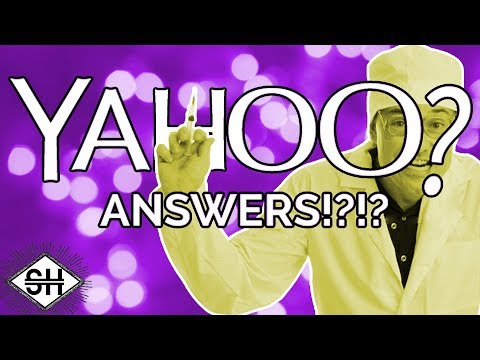 Yahoo Answers Health Section Feat: SorrowTV