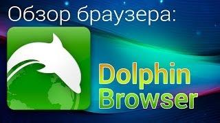Dolphin Browser. Обзор браузера Dolphin Browser для андроид(Группа Вконтакте: http://vk.com/androidens Dolphin Browser - обзор популярного и функционального браузера для Android. Не смотря..., 2014-05-21T10:44:31.000Z)