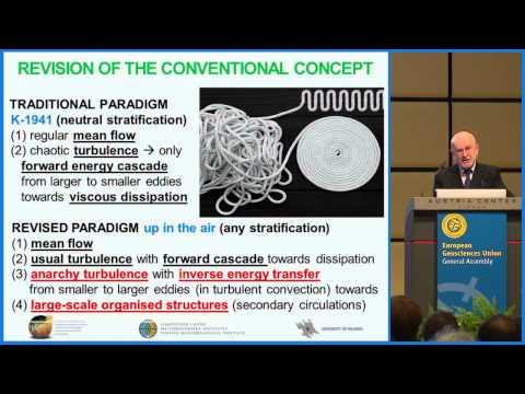 EGU2015: Alfred Wegener Medal Lecture by Sergej Zilitinkevich (ML2)