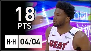 Justise Winslow Full Highlights Heat vs Hawks (2018.04.04) - 18 Points off the Bench!