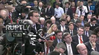 USA  White House Press Sec discusses withdrawal from TTP, cooperation with Russia