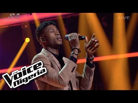 """Michael Meme sings """"Everybody Knows"""" / Live Show / The Voice Nigeria 2016"""