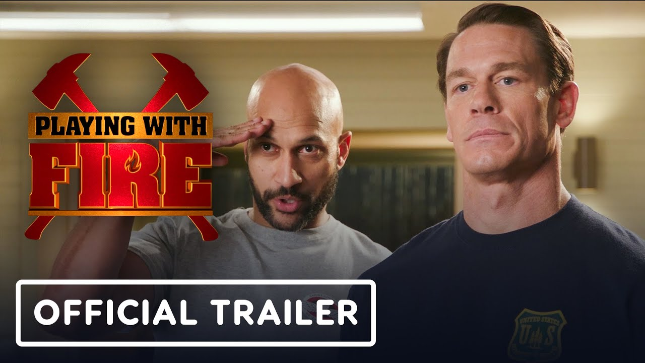Playing With Fire Official Trailer 2019 John Cena Keegan Michael Key