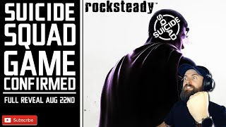 Rocksteady Suicide Squad Game Confirmed // Full Reveal Coming August 22nd At Dc Fandome