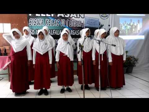 Hymne GURU perpisahan Siswa SD ISLAM ALFALAH kelas VI