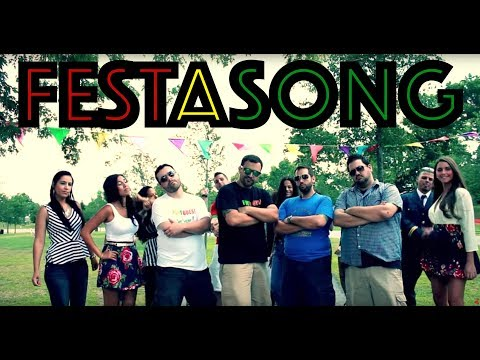 Festa Song - Official Portuguese Kids HD (Thrift Shop Parody)