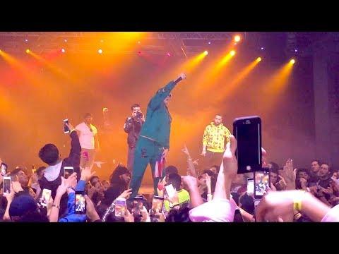 Bad Bunny Canta Nueva Cancion En Concierto Vivo @ Atlanta Coliseum 2017 (Sings Unreleased Song)