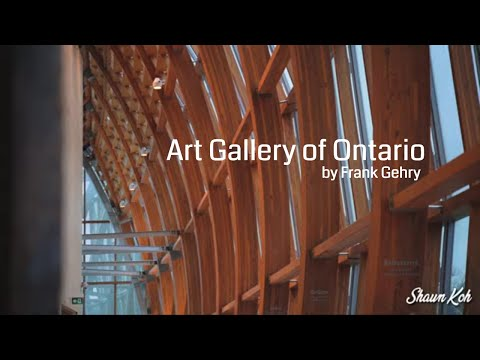 Art Gallery of Ontario by Frank Gehry | Canada Vlog