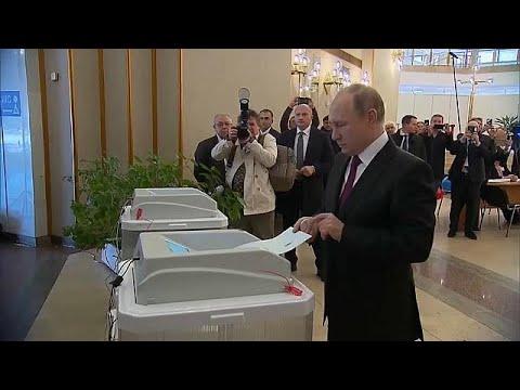 Rússia elege novo presidente